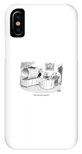 Who Ordered The Megatelli? IPhone Case