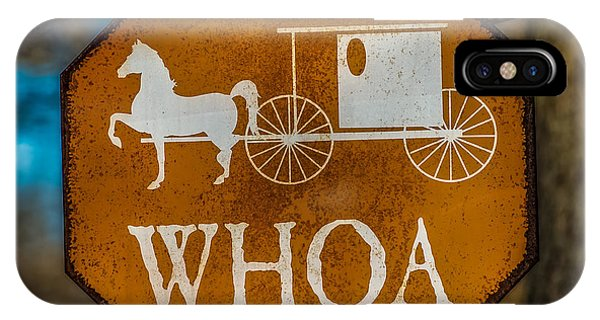 Amish Country iPhone Case - Whoa by Paul Freidlund