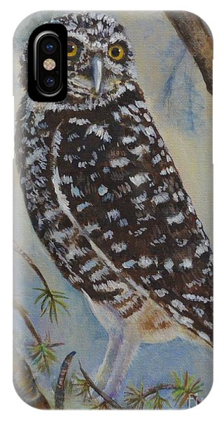 Whoo Cares Phone Case by Jana Baker