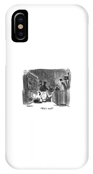 Who's Next? IPhone Case