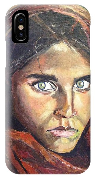 Who's That Girl? IPhone Case