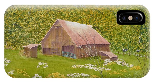 Whose Barn - What Barn - My Barn  IPhone Case