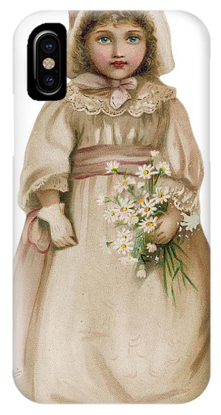 Why Is This Little Girl  Looking So Sad IPhone Case