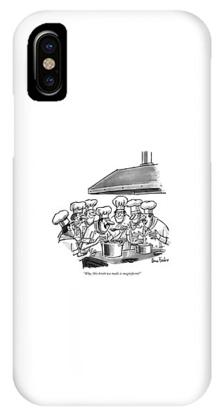 Why, This Broth We Made Is Magni?cent! IPhone Case