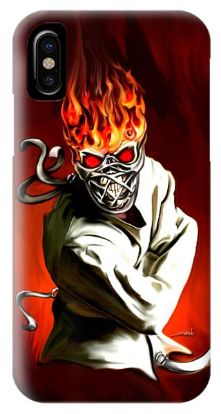 Wicked Insanity By Spano IPhone Case