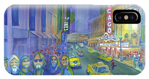 Widespread Panic Chicago  IPhone Case