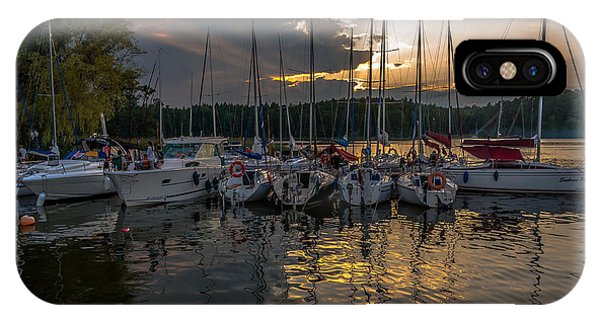Wierzba Yacht Marina In The Afternoon IPhone Case