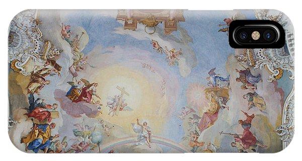 Wies Pilgrimage Church Bavaria Fresko IPhone Case
