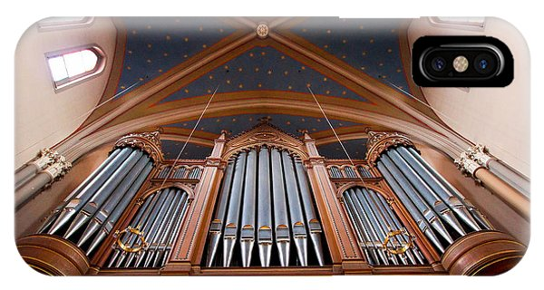 Wiesbaden Marktkirche Organ IPhone Case