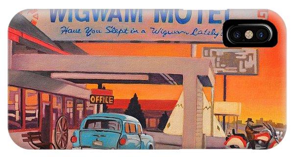 Wigwam Motel IPhone Case