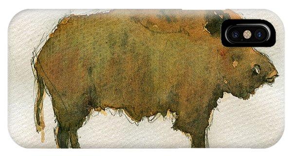 Pig iPhone Case - Wild Boar by Juan  Bosco