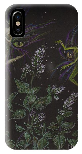 Wild Catnip IPhone Case