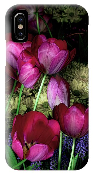 Wild Crazy Beautiful Tulip Garden IPhone Case
