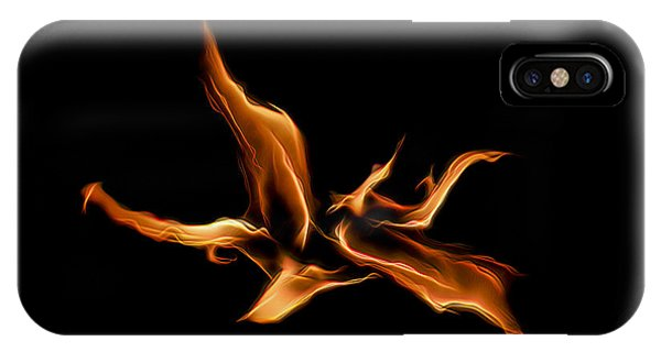 Wild Fire IPhone Case