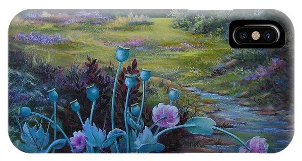 Wild Garden Phone Case by Jean  Yanowski