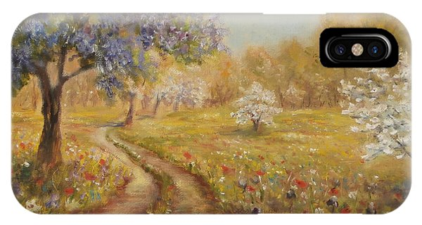 Wild Garden Path IPhone Case