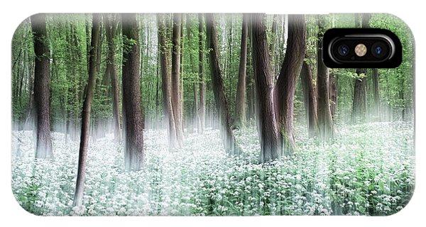 Woods iPhone Case - Wild Garlic by Burger Jochen