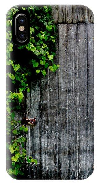 Wild Grape Vine Door IPhone Case