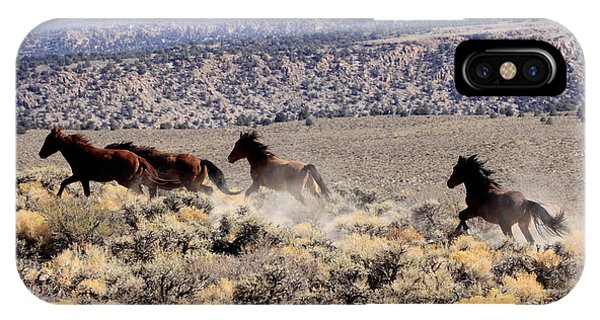Wild Horses I IPhone Case