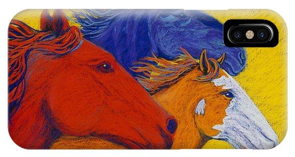 iPhone Case - Wild Horses II by Cynthia Sampson