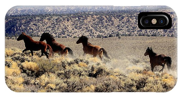 Wild Horses II IPhone Case