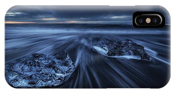 Black Sand iPhone Case - Wild Ice by Juan Pablo De