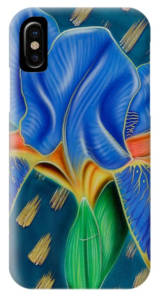 Wild Iris IPhone Case