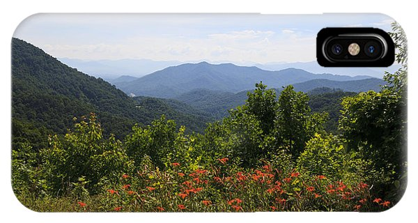 Wild Lilies With A Mountain View IPhone Case