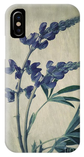 Floral iPhone Case - Wild Lupine by Priska Wettstein