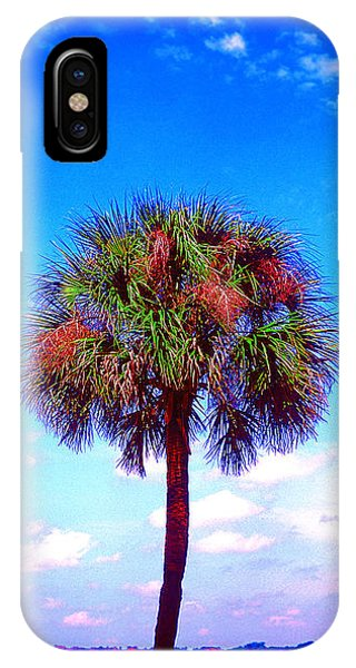 Wild Palm 1 IPhone Case