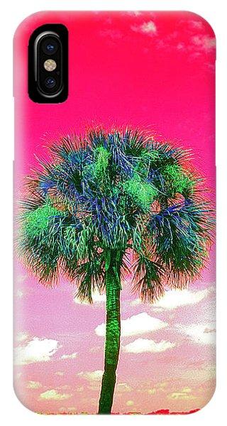 Wild Palm 2 IPhone Case