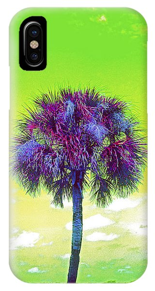 Wild Palm 3 IPhone Case