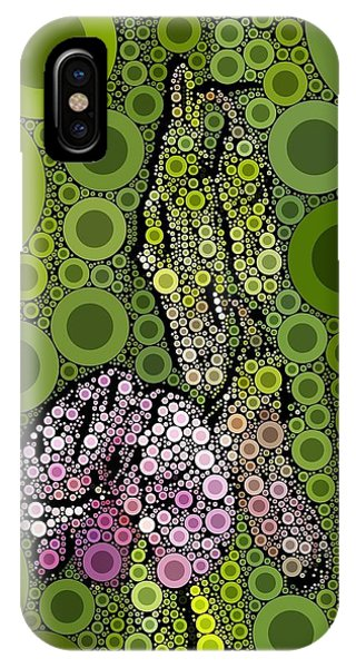 Wild Pea Abstracted IPhone Case