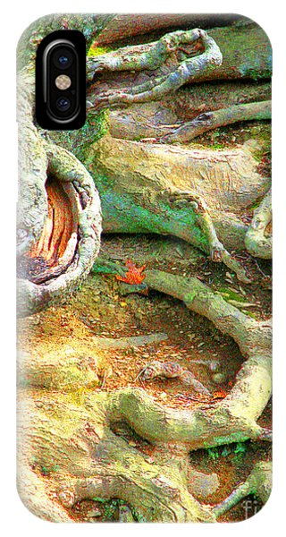 Wild Roots By Christopher Shellhammer IPhone Case