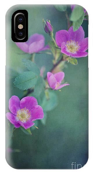 Scent iPhone Case - Wild Roses by Priska Wettstein