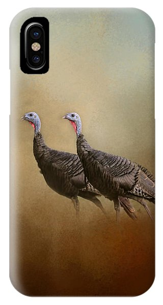 Wild Turkey At Shiloh IPhone Case
