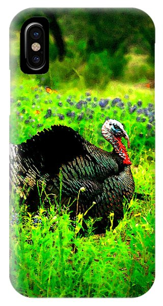 Wild Turkey Water Color IPhone Case