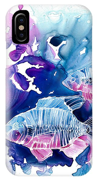 Fish iPhone Case - Wild Water by Mike Lawrence