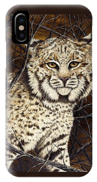 Bobcats iPhone Case - Wildcat by Rick Bainbridge