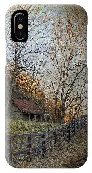 Wildcat Road Cabin IPhone Case