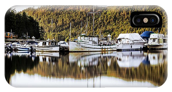Wilderness Fishing Boats IPhone Case
