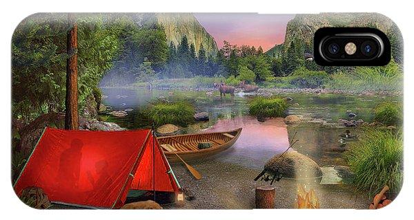 Wilderness Trip IPhone Case