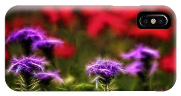 Wildflower Fantasy IPhone Case