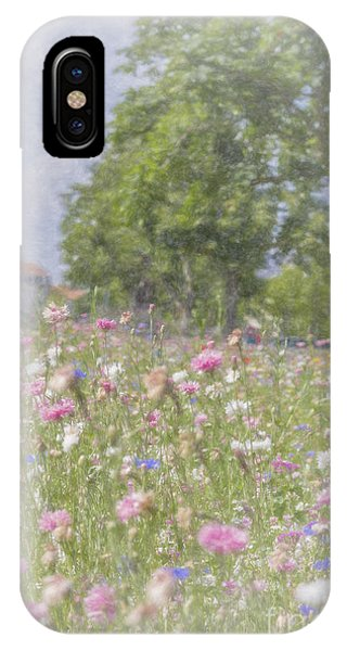 Wildflower Impressionism IPhone Case