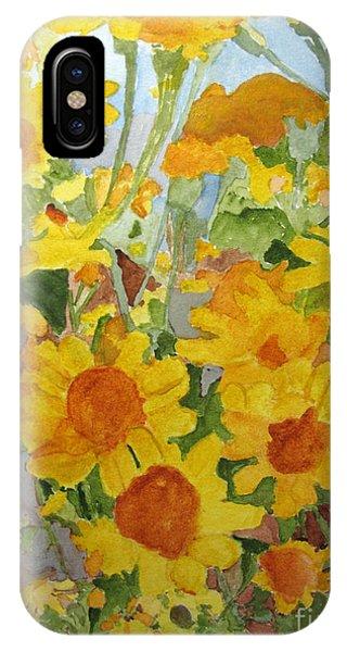 Wildflower Volunteers IPhone Case