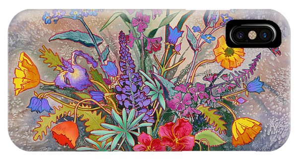 Wildflowers Of Alaska II IPhone Case