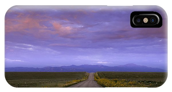 Wildflowers On The Plains IPhone Case