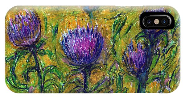 Wildflowers Phone Case by Yuri Lushnichenko