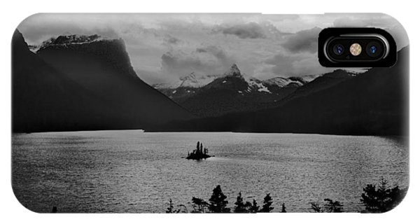Wildgoose Island Bw IPhone Case