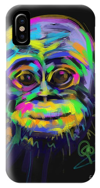 Wildlife Baby Chimp IPhone Case